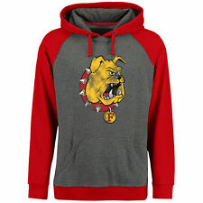 Ferris State Bulldogs Classic Primary Pullover Hoodie - Ash/Red - College