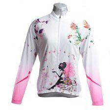 Fairy Women's Cycling Jerseys Long Sleeve Bike Clothing Cycling Jacket Shirt
