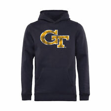 Georgia Tech Yellow Jackets Youth Classic Primary Pullover Hoodie - Navy - NCAA