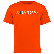 Miami Hurricanes Alternate Logo One T-Shirt - Orange - College