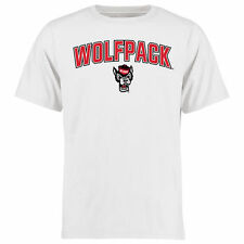 NC State Wolfpack Proud Mascot T-Shirt - White - College