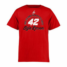 Kyle Larson Youth Race Day T-Shirt - Red - NASCAR