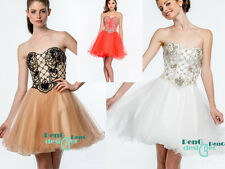 Short Mini Bridesmaid Dresses Formal Cocktail Party Prom Dress Evening Ball Gown