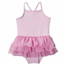 New Circo Girls One-piece Pink Swimsuit Tulle Tutu Skirt UPT50+ 2T~5T