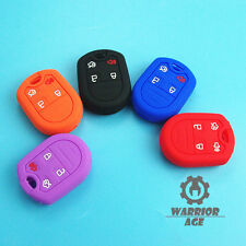 Silicone Remote Key Skin Cover Fob Case 4 Button For Ford Escape Mustang New