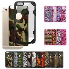 For Apple iPhone 6 6S Plus Shockproof Rubber Hybrid Fashion Hard Case Thin Cover