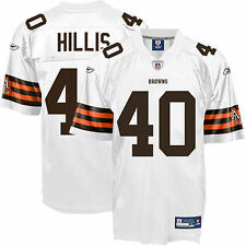 Reebok Peyton Hillis Cleveland Browns Historic Logo Youth Replica Jersey - White