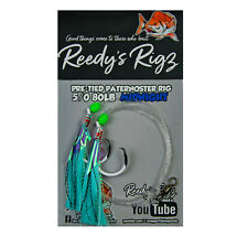 10 whiting Rigs Fishing Rig Bait 30lb Value Pack king george Paternoster Hook