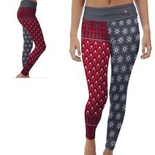 Davidson College Wildcats Womens Yoga Pants Christmas Party  Design