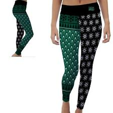Slippery Rock University Womens Yoga Pants Christmas Party  Design