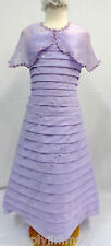 New Girl Pageant flower Bridal Evening ball Formal Lilac Dress size 10 12 14