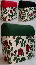 Quilted Red Roses Cover for Kitchenaid 7qt Lift Bowl Stand Mixer