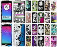 For LG Power L22C Rubberized HARD Protector Case Snap On Phone Cover