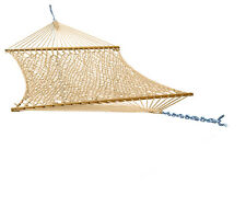 Phat Tommy 2 Person Outdoor Polyester Patio Garden Hammock -Lounging/Relaxation