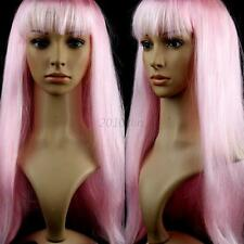 Fashion  59cm Full Wig Long Straight Wig Women Cosplay Party Costume Anime Hair