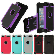 For Apple iPod Touch 6 6th/ 5 5th Gen Hybrid Shock Absorbent TPU Hard Case Cover