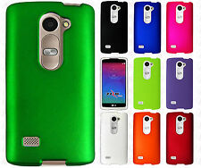 For LG Destiny L21G Rubberized HARD Protector Case Snap On Phone Cover Accessory