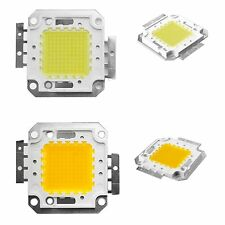 100W Cool / Warm White High Power LED Panel Chip 9000LM 100 Watt Lamp Light DIY