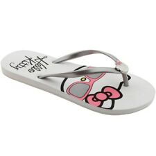 $30 Hello Kitty flats shoes Womens Veronica (silver)