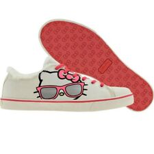 $80 Hello Kitty flats shoes Womens Iris (white)