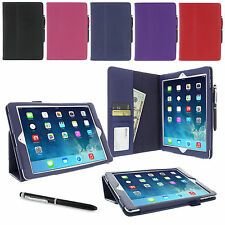 rooCASE Dual Station Folio Case Smart Cover with Stylus for Apple iPad Air (5th