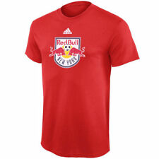 New York Red Bulls adidas Youth Primary Logo T-Shirt - Red - MLS