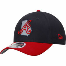 Atlanta Braves New Era State Flective 39THIRTY Flex Hat - Navy/Red - MLB