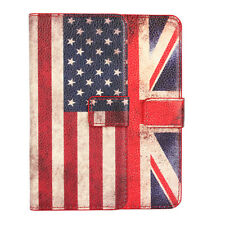 PU Leather Wallet National flag Flip Phone Case Cover Stand For HTC One M9