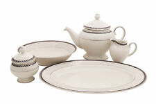 Forever cream China Traditional Serving 5 Piece Dinnerware Set