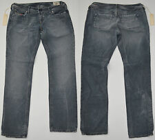 Womens Diesel LOWKY Jeans BNWT Grey Wash 008F Straight Leg Slim Fit £150 NEW