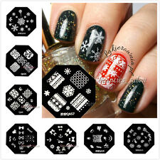 1Pc Nail Art Stamp Plate Polish Stencil Stamping Manicure Image Template DIY