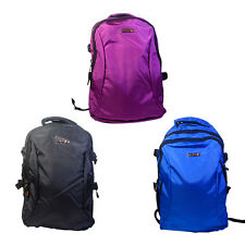 Women Unisex Nylon Waterproof Backpack Bag Messenger School Bag