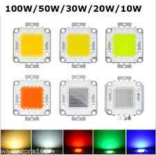 SMD LED White Super Bright Chip High Power Lamp Floodlight Bulb 10/20/30/50/100W