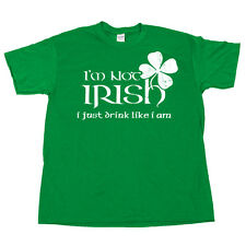 St Patricks Day Im Not IRISH Saint Patricks Drink Green Beer T Shirt Tee Costume