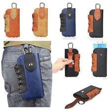 Retro Buckle PU Leather Belt Holster Purse Pouch Bag Case For Iphone&Samsung