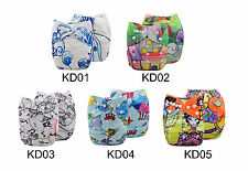 U Pick  ALVABaby Cloth Diaper Reusable Washable Adjustable Nappies + 1 Insert