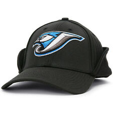 Toronto Blue Jays New Era Downflap 39THIRTY Flex Hat - Black - MLB