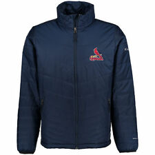 St. Louis Cardinals Columbia Mighty Lite Omni-Heat Full-Zip Jacket - Navy - MLB