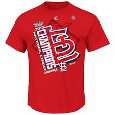 2013 St Louis Cardinals World Series NL Champions (Red) T Shirt YOUTH Large
