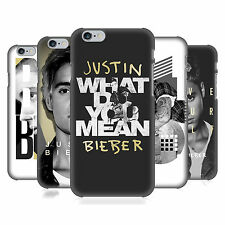 OFFICIAL JUSTIN BIEBER BLACK AND WHITE HARD BACK CASE FOR APPLE iPHONE PHONES