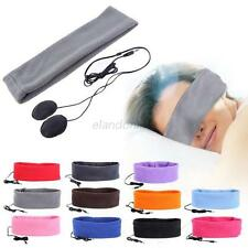 Soft Sleeping Sports Headphone Headsets Headband Eye Mask For Samsung/iPhone NEW