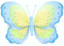 Bugs-n-Blooms Butterfly Hanging Triple Layered Nylon 3D Wall Decor