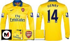 *13 / 14 - NIKE ; ARSENAL AWAY SHIRT LS + PATCHES / HENRY 14 = SIZE*