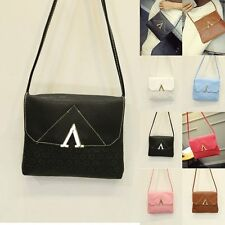 Fashion Women PU Leather Satchel Handbag Shoulder Tote Messenger Bag Cross Body