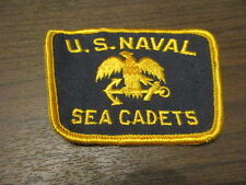 NAVY - United States Navy - U.S. NAVAL SEA CADETS - Sew-on patch - US MILITARY