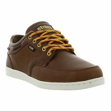 Etnies Dory SMU Mens Brown Leather Shoes Trainers Size UK 7-13