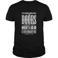 The Doors Live at the Whisky A Go Go 1967 Replica Concert Poster Shirt Hoodie