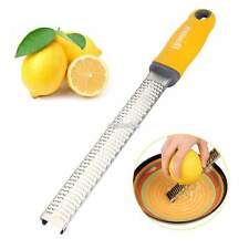 Homox Multipurpose Zester Grater for Lemon/Citrus/Cheese Stainless Steel EFFU