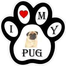 Pug Dog Paw Decal / Sticker