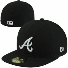 Atlanta Braves New Era League Basic 59FIFTY Fitted Hat - Black - MLB